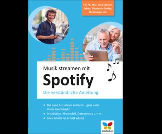Cover von Musik streamen mit Spotify