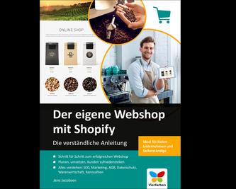 Cover von Der eigene Webshop mit Shopify