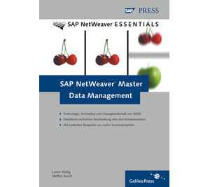 Cover von SAP NetWeaver Master Data Management