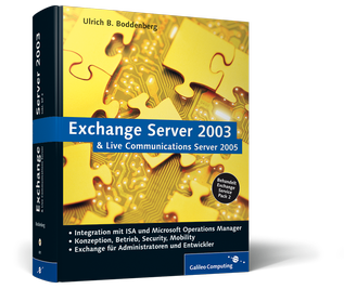 Cover von Exchange Server 2003 und Live Communications Server