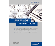 Cover von SAP MaxDB-Administration