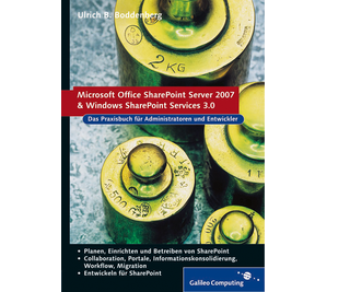 Cover von Office SharePoint Server 2007 und Windows SharePoint Services 3.0