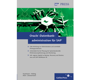 Cover von Oracle-Datenbankadministration für SAP