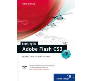 Cover von Einstieg in Adobe Flash CS3