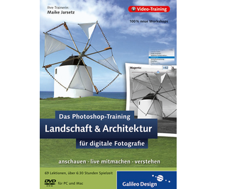 Cover von Das Photoshop-Training für digitale Fotografie. Landschaft & Architektur