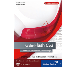 Cover von Adobe Flash CS3