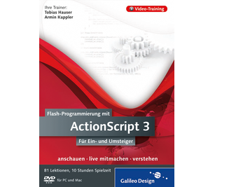 Cover von Flash-Programmierung mit ActionScript 3