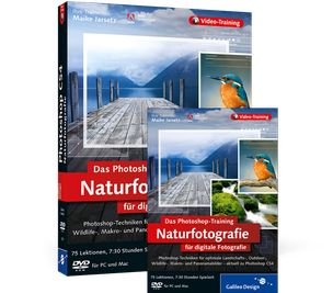 Cover von Das Photoshop-Training für digitale Fotografie: Naturfotografie