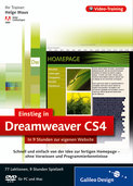 Cover von Einstieg in Adobe Dreamweaver CS4