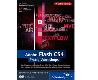 Cover von Adobe Flash CS4 Praxis-Workshops