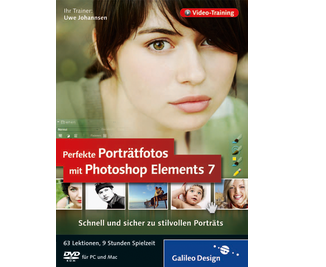 Cover von Perfekte Porträtfotos mit Photoshop Elements 7