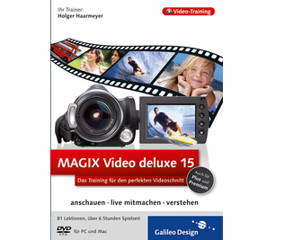 Cover von MAGIX Video deluxe 15