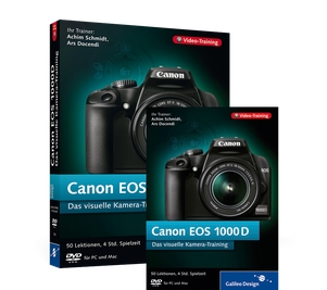Cover von Canon EOS 1000D. Das visuelle Kamera-Training