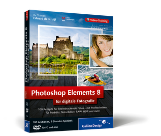 Cover von Photoshop Elements 8 für digitale Fotografie