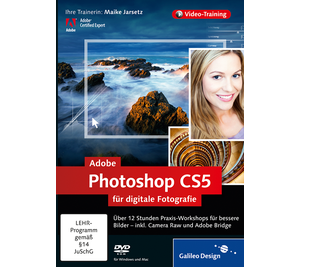 Cover von Adobe Photoshop CS5 für digitale Fotografie
