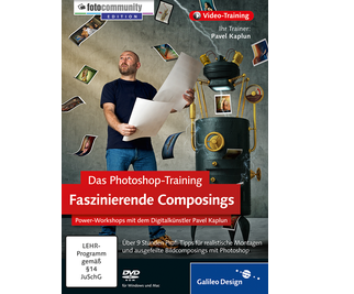 Cover von Das Photoshop-Training: Faszinierende Composings
