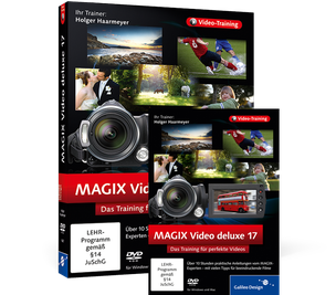 Cover von MAGIX Video deluxe 17