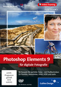 Cover von Photoshop Elements 9 für digitale Fotografie