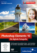 Cover von Photoshop Elements 10 für digitale Fotografie