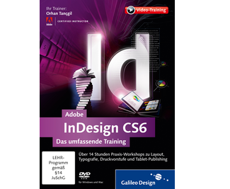 Cover von Adobe InDesign CS6