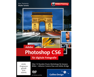 Cover von Adobe Photoshop CS6 für digitale Fotografie