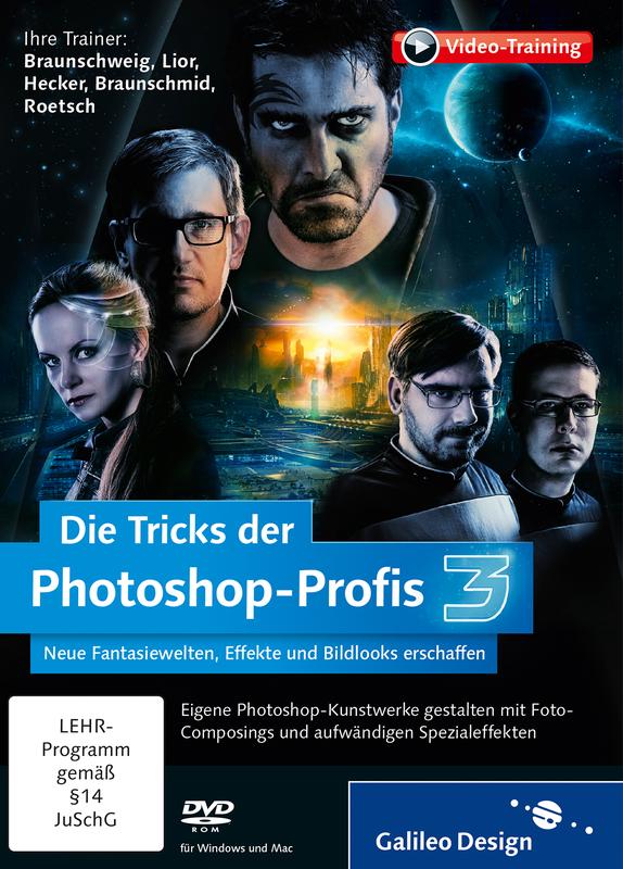 Sonnenstrahlen hinzufügen - Die Tricks der Photoshop-Profis - Volume 3