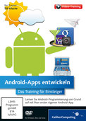 Cover von Android-Apps entwickeln
