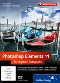Cover von Photoshop Elements 11 für digitale Fotografie