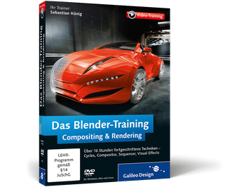 Cover von Das Blender-Training: Compositing & Rendering