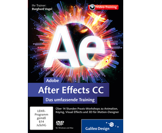 Cover von Adobe After Effects CC