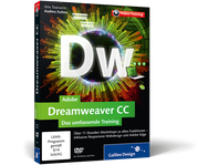 Cover von Adobe Dreamweaver CC