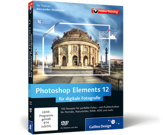 Cover von Photoshop Elements 12 für digitale Fotografie