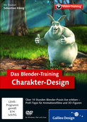 Cover von Das Blender-Training: Charakter-Design