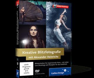 Videotraining - Kreative Blitzfotografie mit Alexander Heinrichs