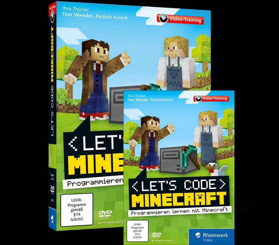 Lets Code Minecraft Programmieren Lernen Mit Minecraft - Minecraft spielen lernen