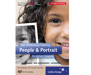 Cover von Das Photoshop-Training: People & Portrait