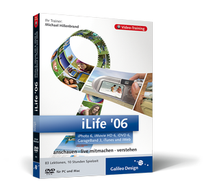 Cover von iLife '06: iPhoto 6, iMovie HD 6, iDVD 6, GarageBand 3, iTunes und iWeb