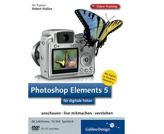 Cover von Photoshop Elements 5 für digitale Fotos