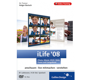 Cover von iLife '08: iPhoto, iMovie, iDVD, GarageBand, iWeb und iTunes
