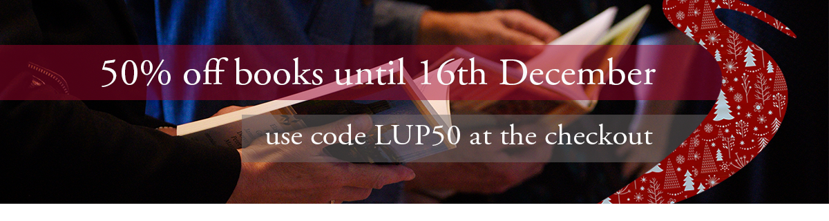 50% off books with code LUP50