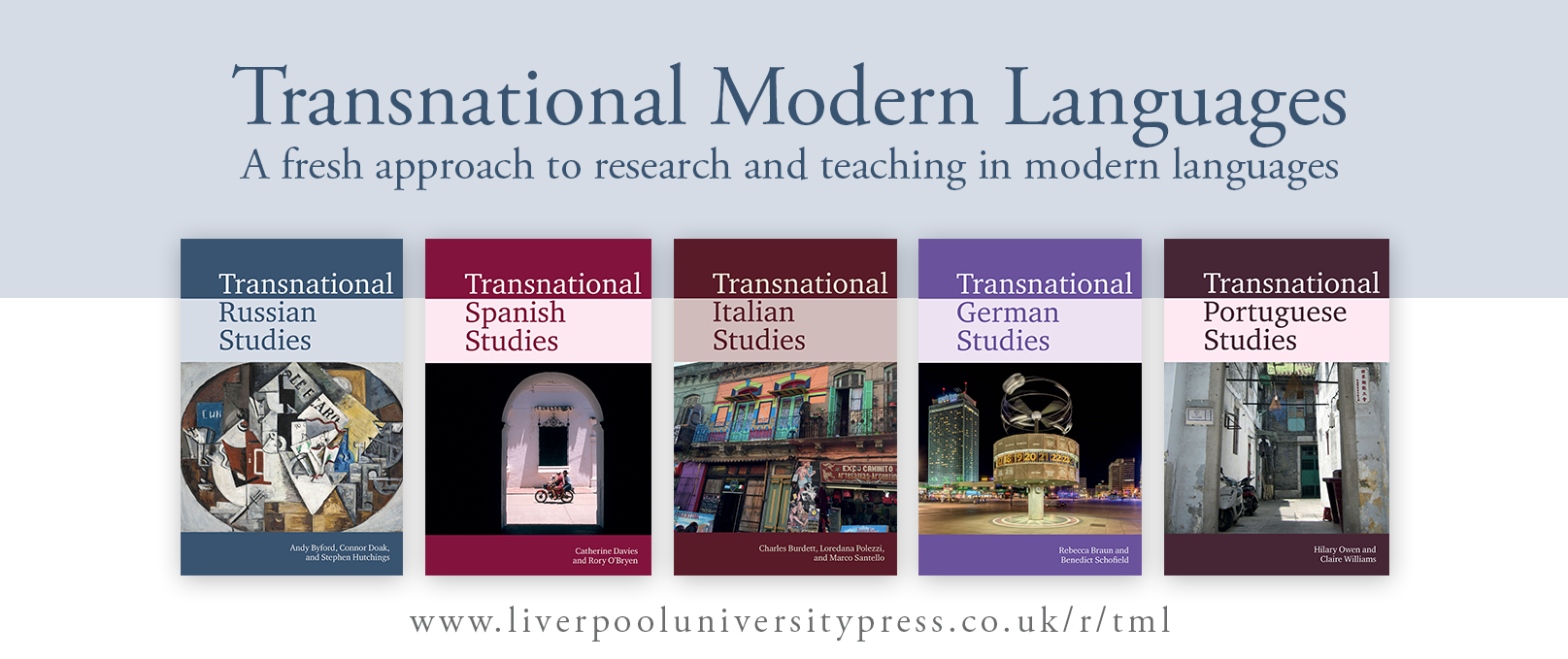 Transnational Modern Languages banner