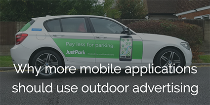 mobile applications outdoor advertising