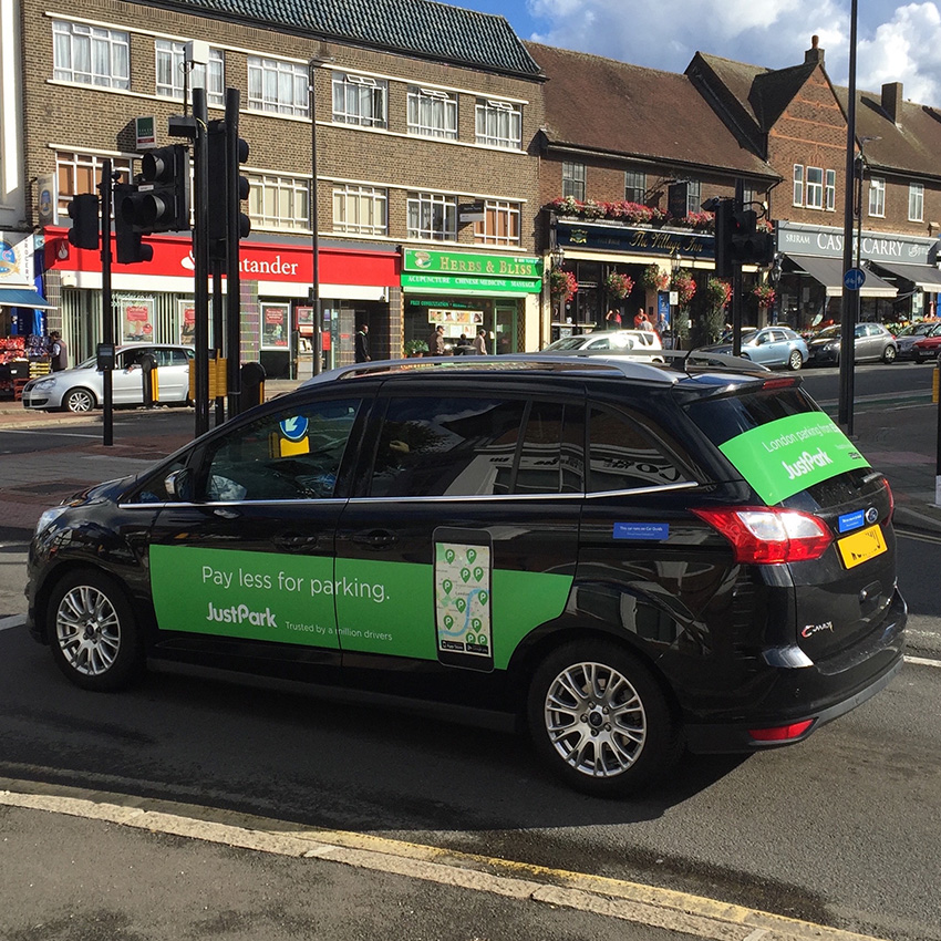 mobile application car advertising