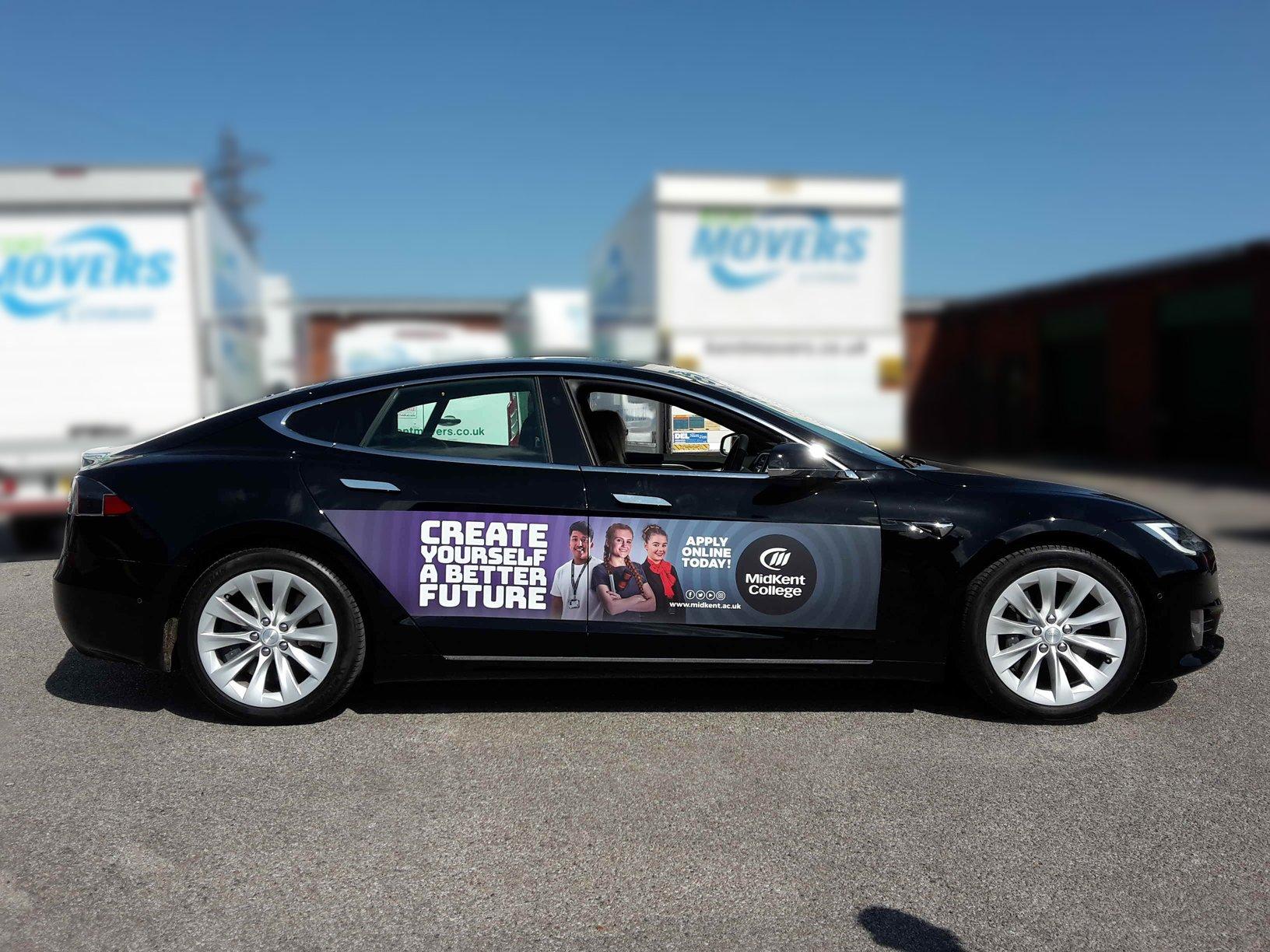 Car Quids - Midkent College Tesla