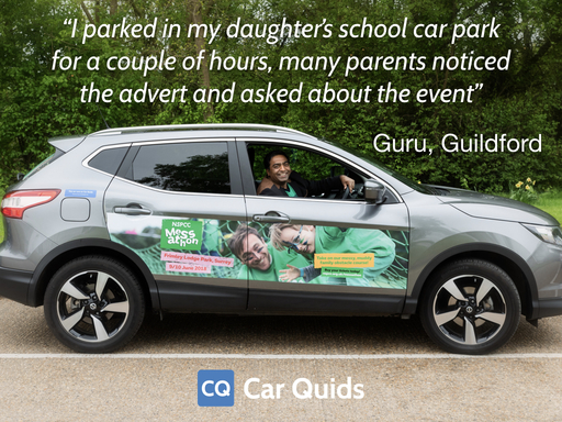 Car Quids - NSPCC Driver Quote
