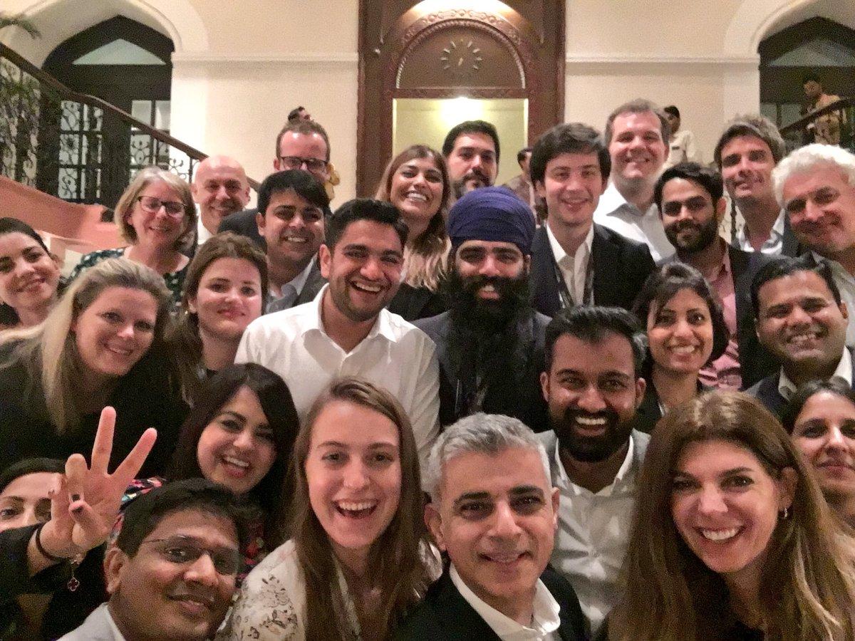 Sadiq Khan #LondonIsOpen