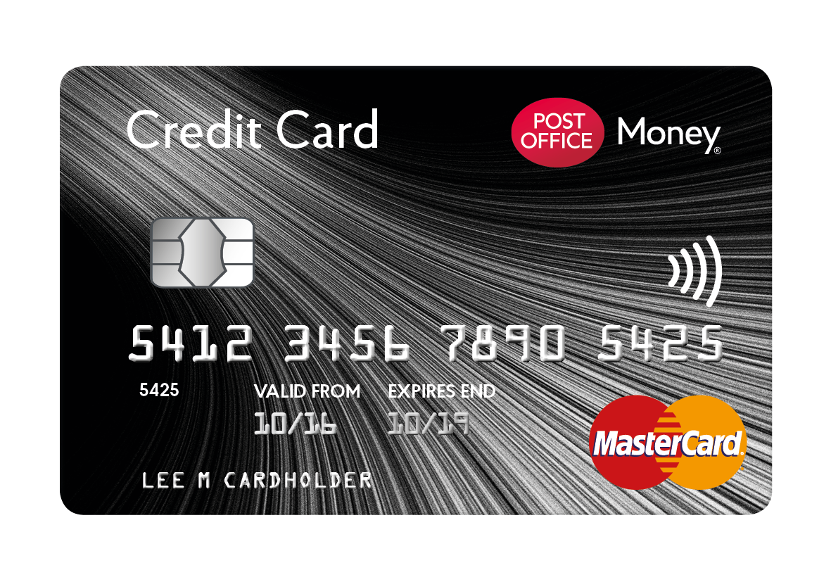 Post Office Matched Credit Card