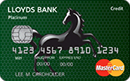 Lloyds Bank Platinum 15m Balance Transfer card