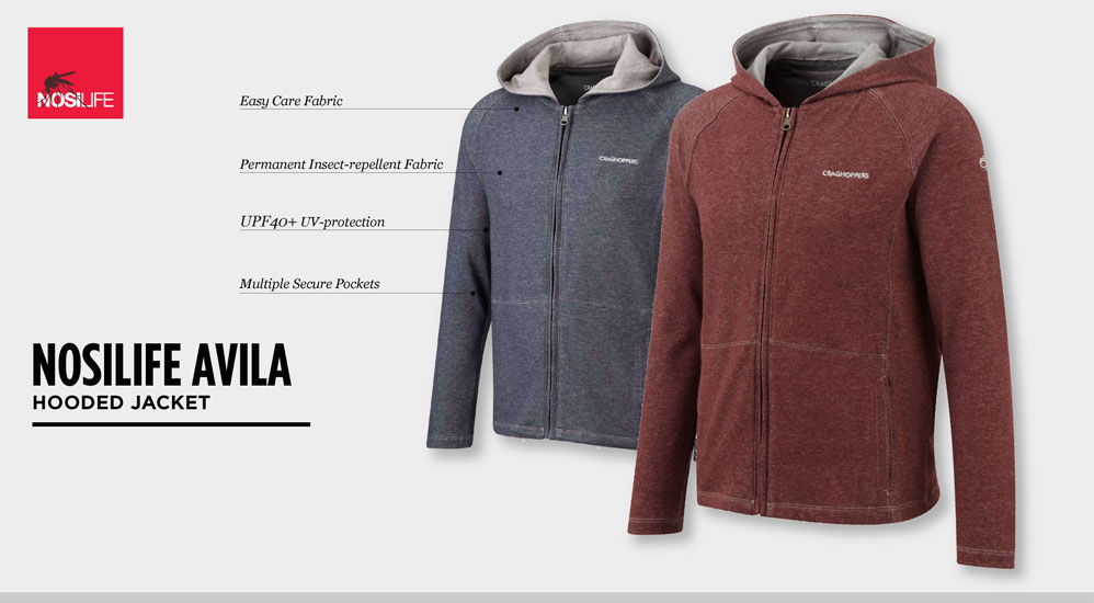 NosiLife Avila hooded jacket