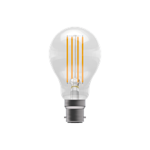 6W LED Filament Clear GLS Dimmable - BC, 2700K